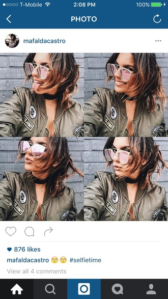 jewels jewelry necklace cheryl cole choker necklace black choker blogger green bomber jacket army green jacket bomber jacket glasses