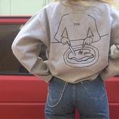 sweater,me,you,grey,tumblr