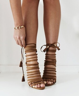 shoes sandals tie up sandals heels strappy sandals strappy heels sandal heels