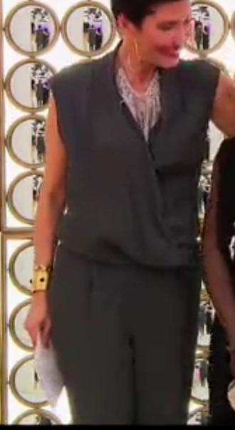 jumpsuit gris combinaison cristina cordula reine du shopping