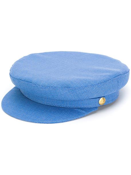 hat blue