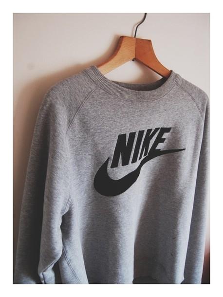 nike sweater grey sweater grey nike sweater jacket nike sweatshirt gray hoodie gray and black shirt sweatshirt nike jumper nike jumper grey black oversized sweater sporty cozy cozy sweater top sportswear tumblr nike sportswear grey sweatsirt crewneck sweatshirt