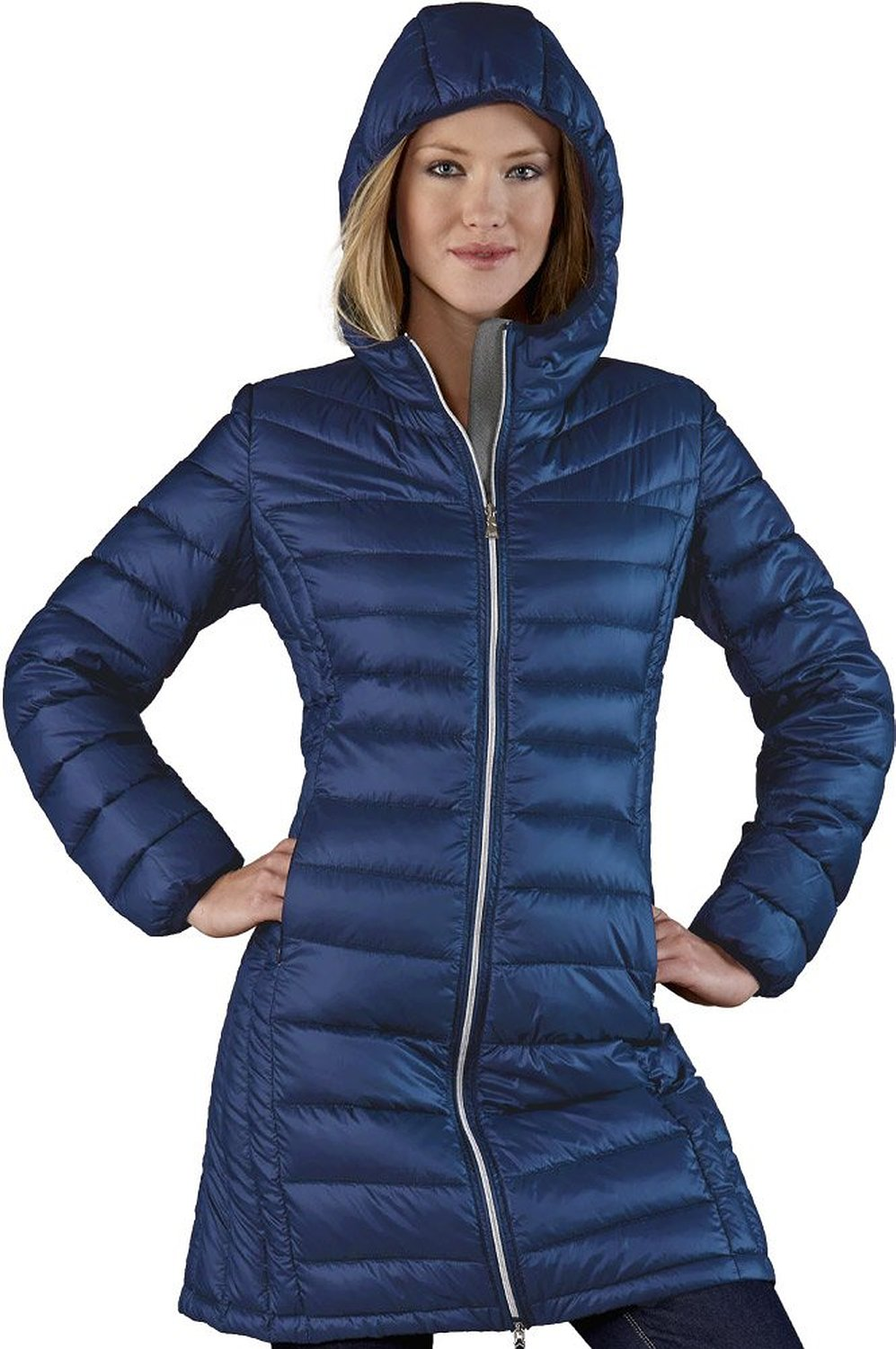 Sport Long Down Jacket at Amazon Women's Clothing store: