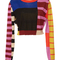 Colorblock cropped sweater | moda operandi