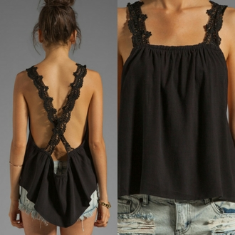 blouse black top cute top tank top lovely shirt black blouse white top hipster top top