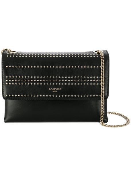 lanvin mini women handbag black bag
