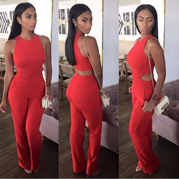 Red Jumpsuits - Shop for Red Jumpsuits on Wheretoget
