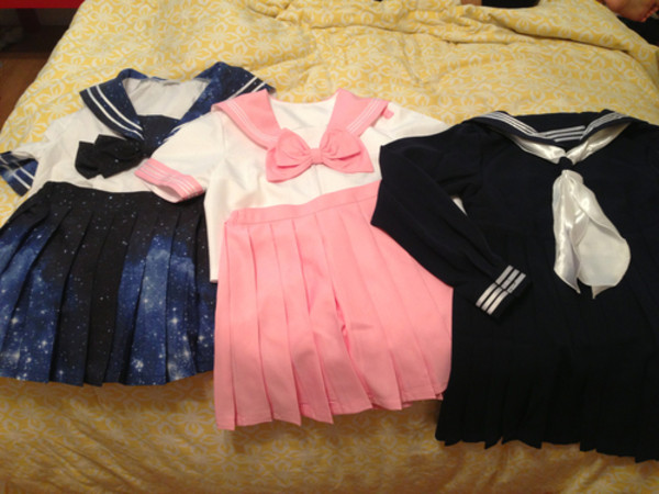 dress back to school school girl japanese