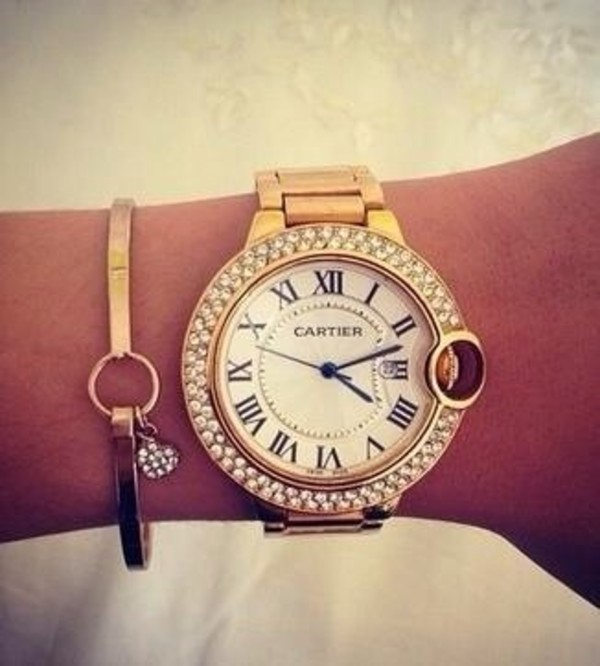jewels watch cartier