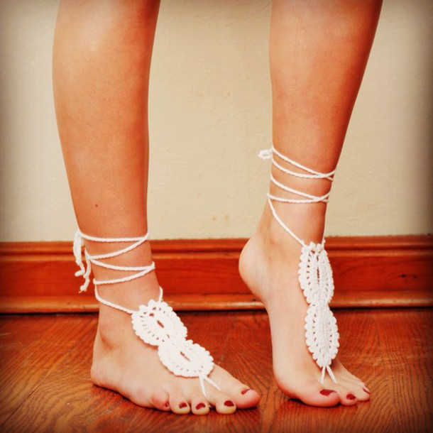 shoes barefoot sandals