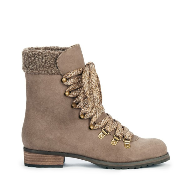 Sole Society Ada Cold Weather Boot - Dark Taupe-9