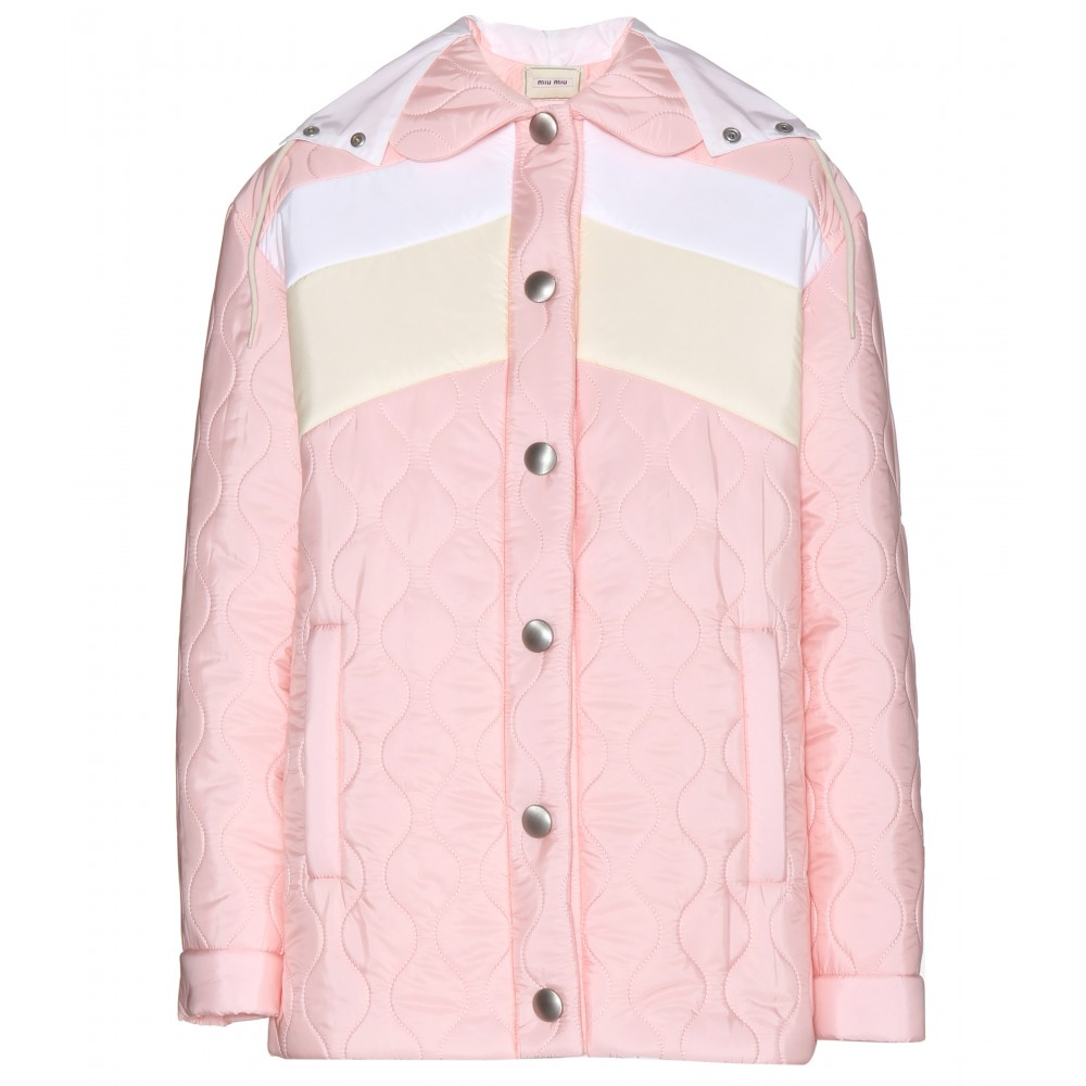 mytheresa.com - Quilted jacket - Casual - Jackets - Clothing - Luxury Fashion for Women / Designer clothing, shoes, bags