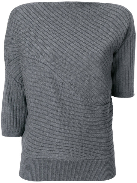 JW Anderson top knitted top women grey