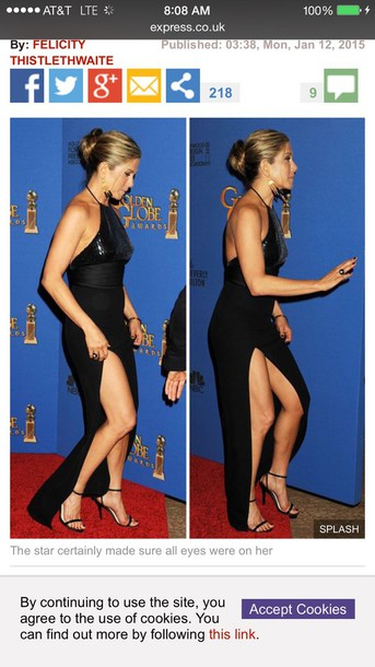 dress jennifer aniston formal dress actress stylish