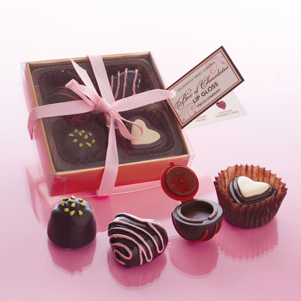 Life is Like a Box of Chocolates Boxed Lip Glosses Set