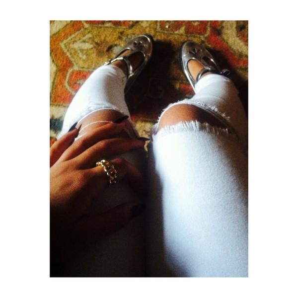 pants jeans shoes