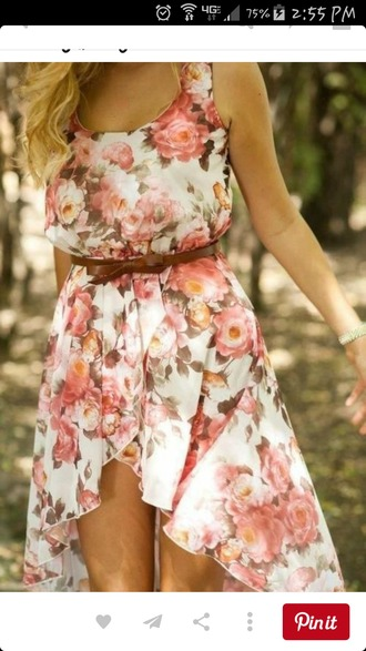 dress high low dress summer dress