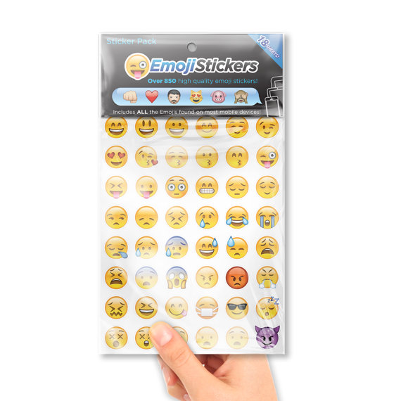 iPhone Emoji Sticker Packs by EmojiStickers on Etsy