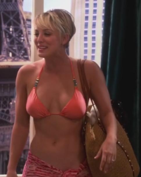 Orange bikini short clip 10