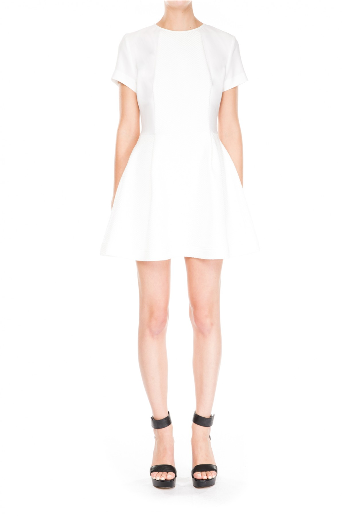 The Fifth HYPER PARADISE DRESS IVORY - BNKR