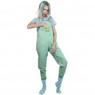jumpsuit mint overalls boogzel