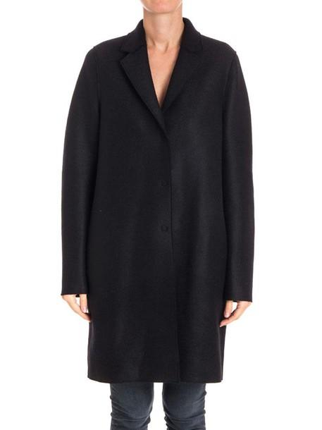 HARRIS WHARF LONDON coat classic black
