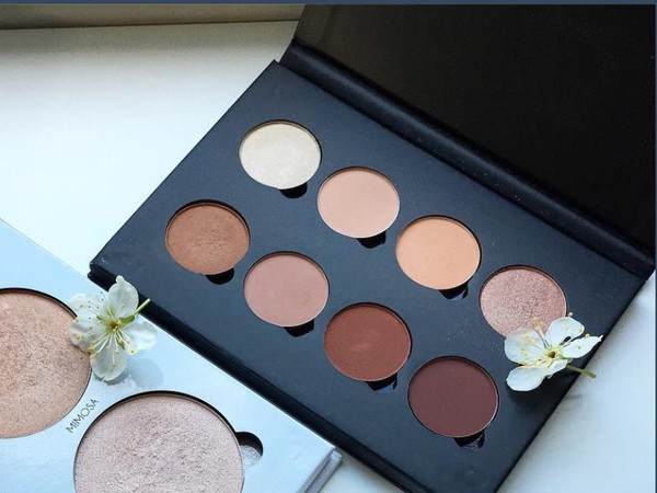 make-up pallets makeup palette autumn make-up palette