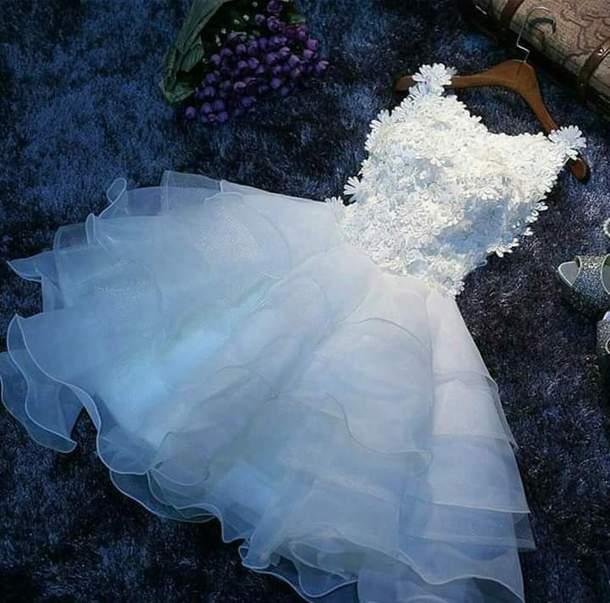 dress white dress stylish
