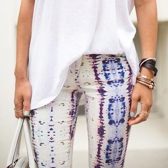 pants snake print pants jeans