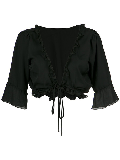 Olympiah top cropped women black
