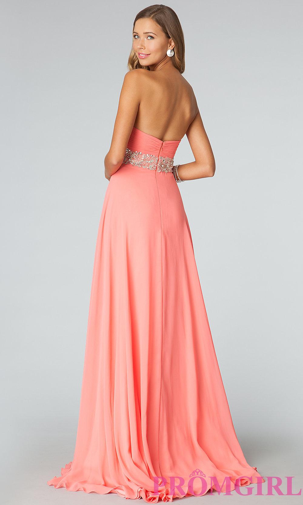 Jvn by jovani long prom dress