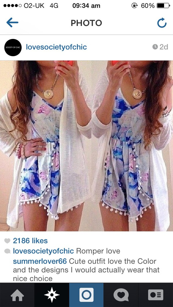 romper romper flowered shorts shorts cardigan
