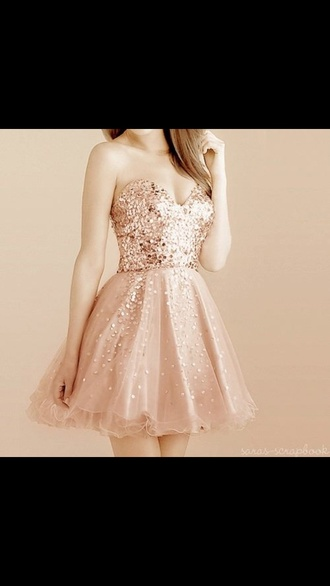 dress prom dress short sparkle strapless