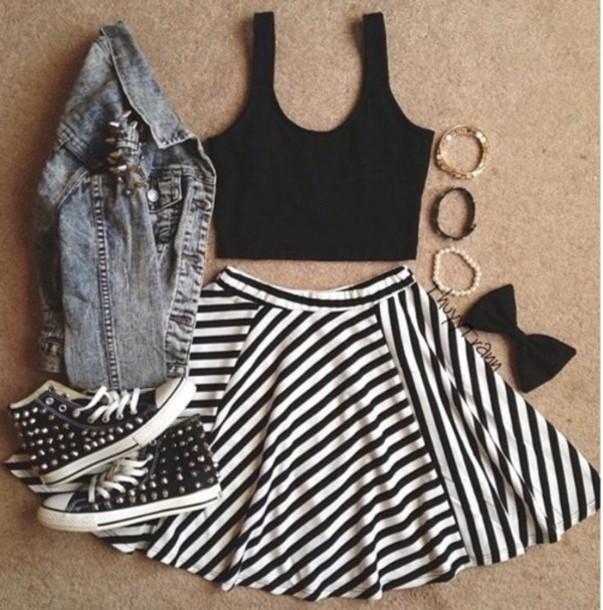 skirt skater skirt hair accessory