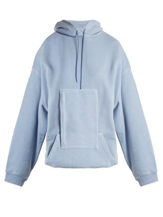 sweater hoodie light blue light blue