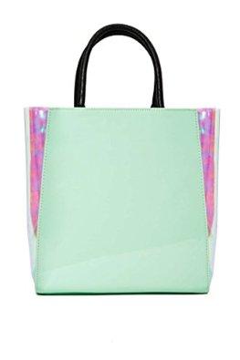 Amazon.com: 16 Frankie Goes to Holowood Hologram Tote, Handbag (Mint): Shoes