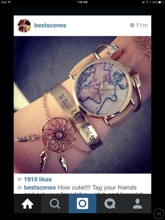 jewels set jewelry bracelets gold gold bracelet stacked bracelets cuff bracelet dreamcatcher