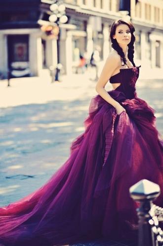 formal prom dress celebrity style burgundy formal gown princess dress