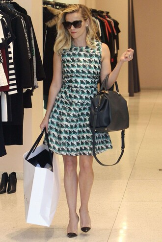 bag dress cocktail dresses reese witherspoon sunglasses