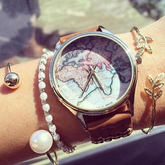 jewels jewelry bracelets leaf bracelet stacked bracelets pearl