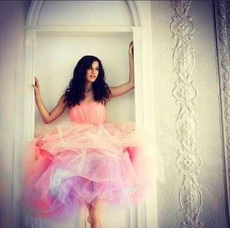 short dress pink dress colourful dress