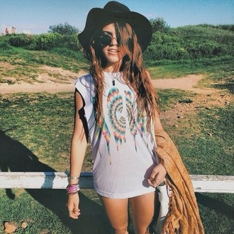 t-shirt holographic acid wash grunge indie sunglasses hat top