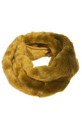 Lux Twist Fur Snood - Chateau Femme  - Clothing  - Topshop
