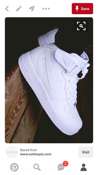 shoes nike air force 1 high top sneakers white sneakers nike