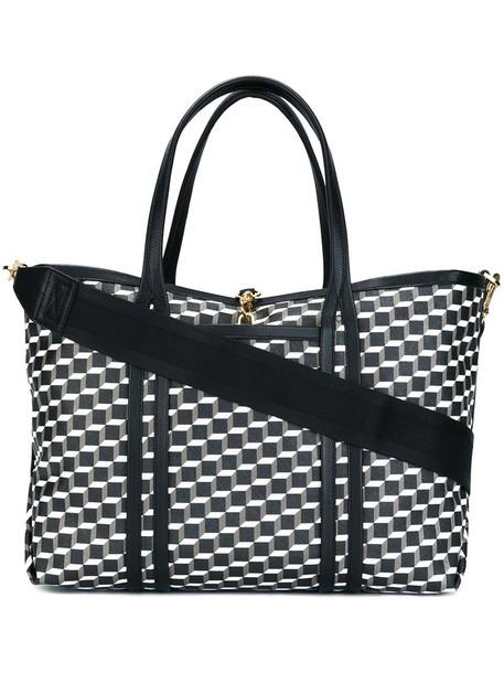 Pierre Hardy - 'Polycube' tote - women - Leather/PVC - One Size, Black, Leather/PVC