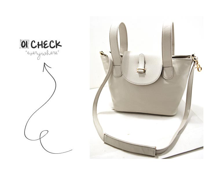 New Look Fashion Crossbody Bga in Grey [FPB777] - PersunMall.com