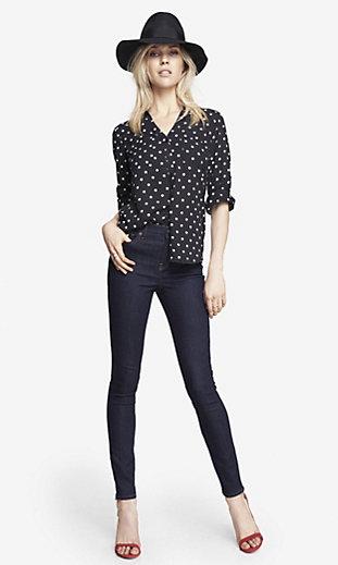 Womens Denim Leggings: Shop Jean Leggings For Women | EXPRESS