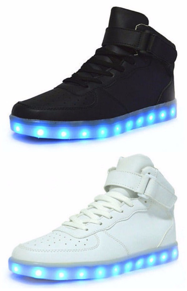 NIKE AIR FORCE 1 NRG MEDAL STAND WITH LIGHTS – Evolved Footwear Custom Light Up Shoes