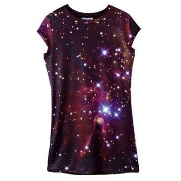 shirt galaxy print