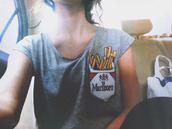 shirt,smoke,smoking,grey,bows,black bows,bow sweater,demi,t-shirt,malboro,malboro fries